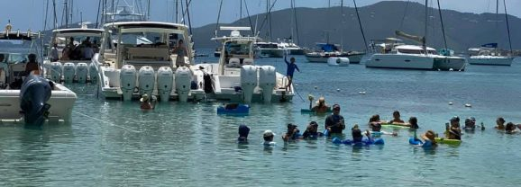 Beach Bar Pic of the Week – Dinghy's Beach Bar, St. Thomas, US Virgin Islands