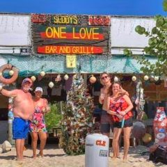 Beach Bar Pic of the Week – One Love Bar and Grill, Jost Van Dyke, British Virgin Islands