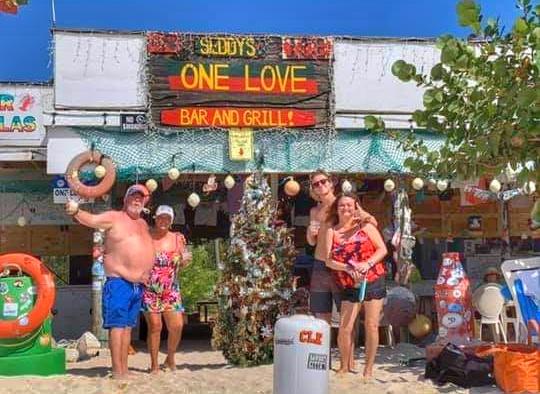 caribbean, beach bar