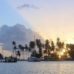 Beach Pic of the Week – Sunset at Marigot Bay, St. Lucia